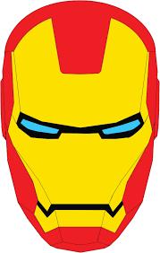iron man face clip art clipart