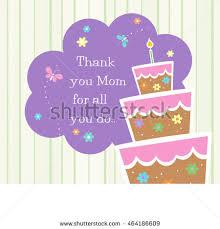 ready print happy birthday card design stock vector 682980742