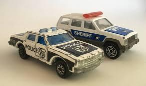 jeep cherokee toy 2 vintage toys cars majorette patrol police car