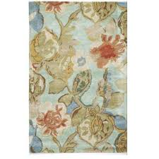 8 X 14 Area Rug Floral Blue 10 X 14 Area Rugs Rugs The Home Depot