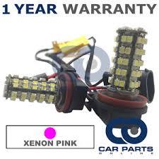 audi a6 fog light bulb 2x canbus pink h11 60 smd led fog light bulbs for audi a1 a4 a5 a6