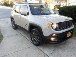 new jeep renegade lifted took delivery of a 75th anniversary jeep renegade today