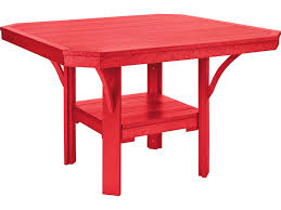 Patio Furniture Made From Recycled Plastic Milk Jugs C R Plastic St Tropez 45 Square Dining Table T35