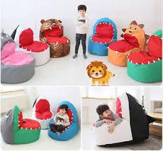 Shark Bean Bag Baby Infant Toddler Bean Bag Chair Sofa Safari Character