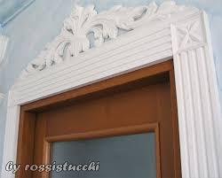 profili per porte stucchi decorativi in gesso per porte portali e finestre
