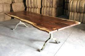 live edge round table raw wood dining table yamacraw org
