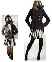 gas mask costume rebekah s as media thriller opening costume ideas in