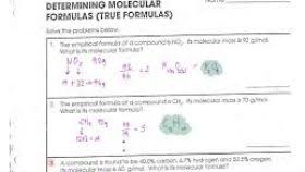 worksheet composition and empirical formulas worksheets