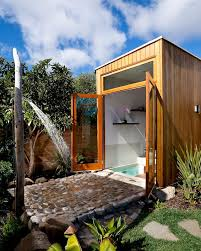 best 25 outdoor bathrooms ideas on pool bathroom