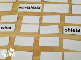 Words Cards Free Compound Words Pack