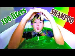 Challenge Bathtub Slime Bath Challenge Bathtub With Shoo 100 Liters