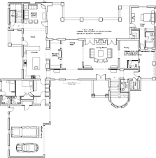 house plans with butlers pantry spanish colonial style floor plan inde inspirations spanish