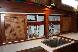 Painting Boat Interior Painting Our Galley Cabinets Helm Hounds