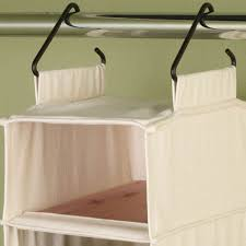 hanging shoe caddy cedarline 10 shelf wide hanging shoe organizer natural