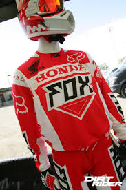 fox honda motocross gear more 2015 fox gear millsaps to kawi jr world championship team