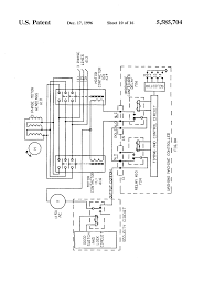 wiring diagram us patent 5585704 10 heres whirlpool semi new washing