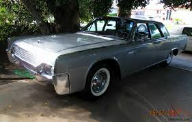 classic 1961 lincoln continental silver 4 door approx