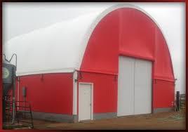 Hoop Barns For Sale Hoop Buildings Portable Buildings Fabra Dome In Audubon Iowa