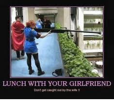 Military Wives Meme - lunch with your girlfriend don t get caught out by the wife