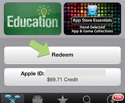 store cards app how to redeem code check app store balance on ios device