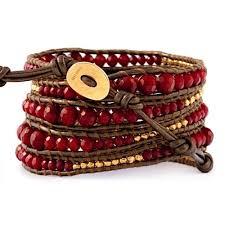 red wrap bracelet images Chan luu red coral graduated wrap bracelet jpg