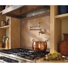 pot filler kitchen faucet delta faucet 1177lf ss traditional brilliance stainless pot filler