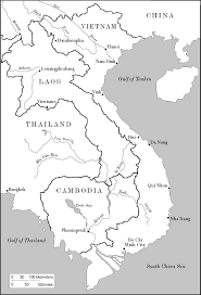 Laos World Map by Maps Of Asia Page 2