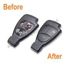 for mercedes vito 2 3 button remote smart key fob repair