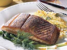 blackened salmon with hash browns green onions recipe myrecipes