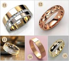 wedding rings pictures for men 15 gold engagement rings for men that are absolutely unique