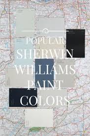 twelve best selling sherwin williams paint colors popular
