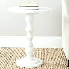 side table round side table white small round side table glass