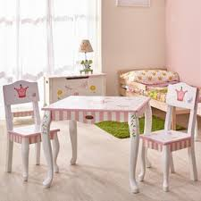 Levels Of Discovery Princess Vanity Table And Chair Set Princess Themed Kids U0027 Table U0026 Chair Sets You U0027ll Love Wayfair