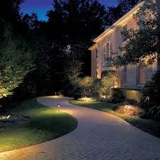 Kichler Outdoor Led Landscape Lighting Outdoor Lighting Contemporary Garden Lighting Decorative Lights