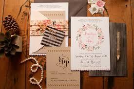 Rustic Invitations Unique Rustic Floral Wedding Invitations Bridalpulse