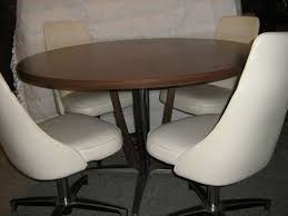 chromcraft table and chairs vintage chromcraft dining set dinette round table swivel bucket