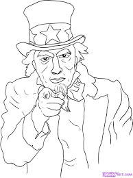 how to draw uncle sam step by step symbols pop culture free