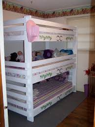 Wooden Bunk Bed Plans Free by 28 Best Bunk Beds Customers Built Images On Pinterest 3 4 Beds