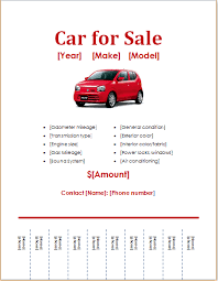 doc 776600 car for sale template u2013 car for sale sign office