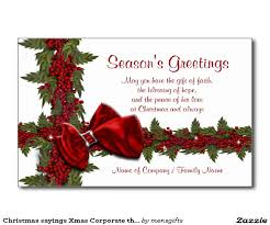 corporate christmas card greetings christmas lights decoration