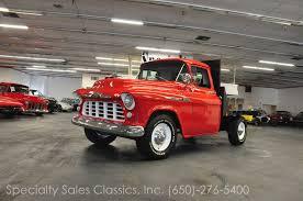 1955 chevrolet 3200 2 door flatbed dump truck trucks pinterest