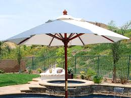 Side Patio Umbrella Furniture Costco Cantilever Umbrella For Most Dramatic Shade