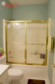Painting Shower Door Frame 52 Best Images About Bathroom Ideas On Pinterest Gold Shower