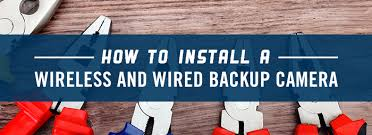 how to install a wireless u0026 wired rv backup camera