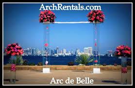 wedding arches los angeles acrylic wedding chuppah altar lucite arch rentals los angeles