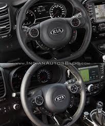 kia steering wheel 2016 kia soul facelift vs 2014 kia soul steering wheel indian