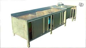 meuble de cuisine inox meuble de cuisine inox tout en lgret buffet de cuisine desserte