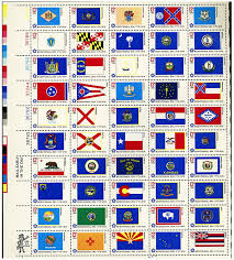Old Hawaiian Flag Amazon Com 1976 State Flags Full Sheet Of 50 X 13 Cent Stamps