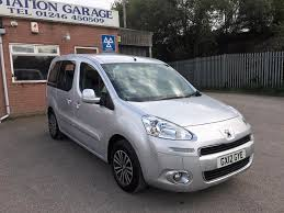 peugeot car garage used peugeot partner tepee cars for sale in chesterfield