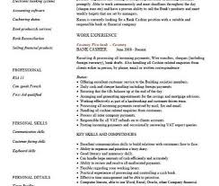 Customer Service Resume Summary Examples Customer Service Cashier Resume Cover Letter For Cashier Example